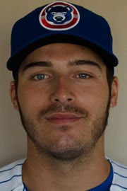 South Bend Cubs right-hander Brad Markey ready for his first pro baseball start