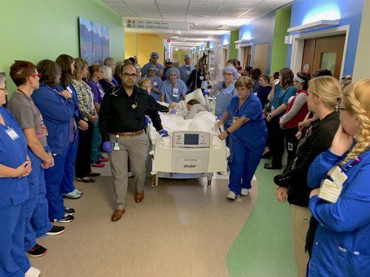 Memorial Hospital honors 12-year-old organ donor