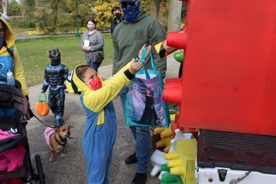 Fairgrounds trick or treat