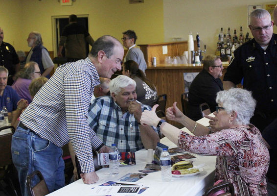 Kielbasa, cabbage, candidates come together