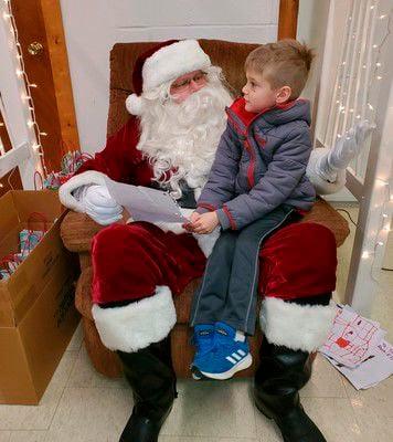 Enhancing Millersburg brings Santa to town hall