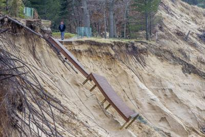 Agency denies emergency request over beach erosion