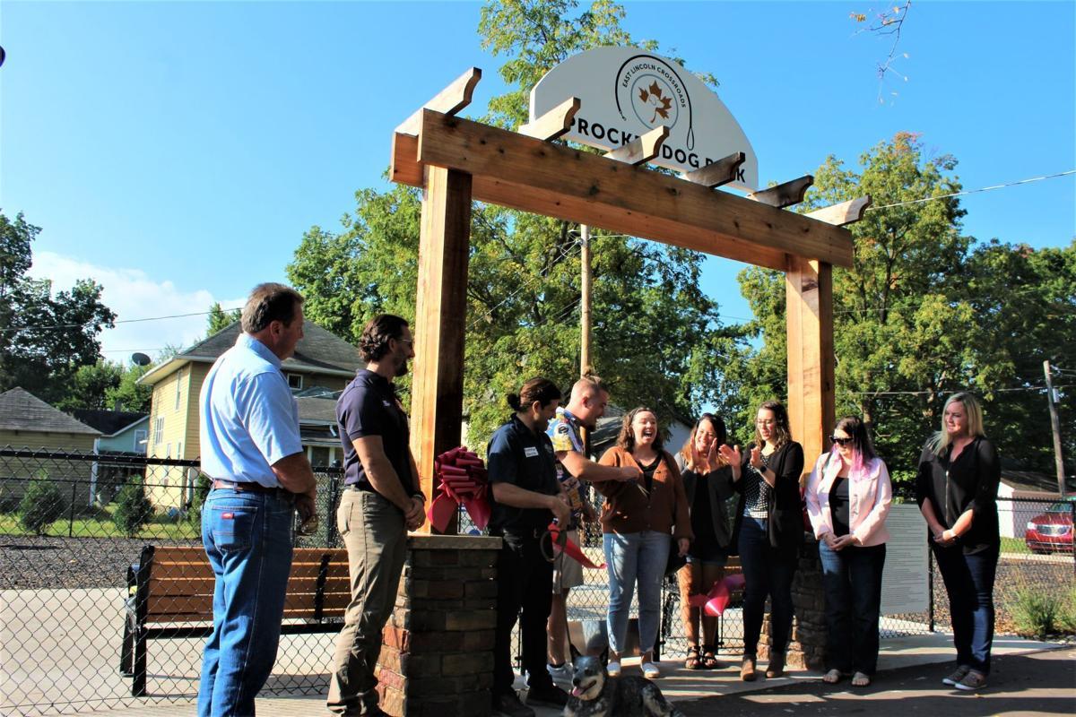 Goshen's first ever dog park opens2