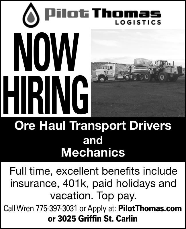 Ore Haul Driver & Mechanic