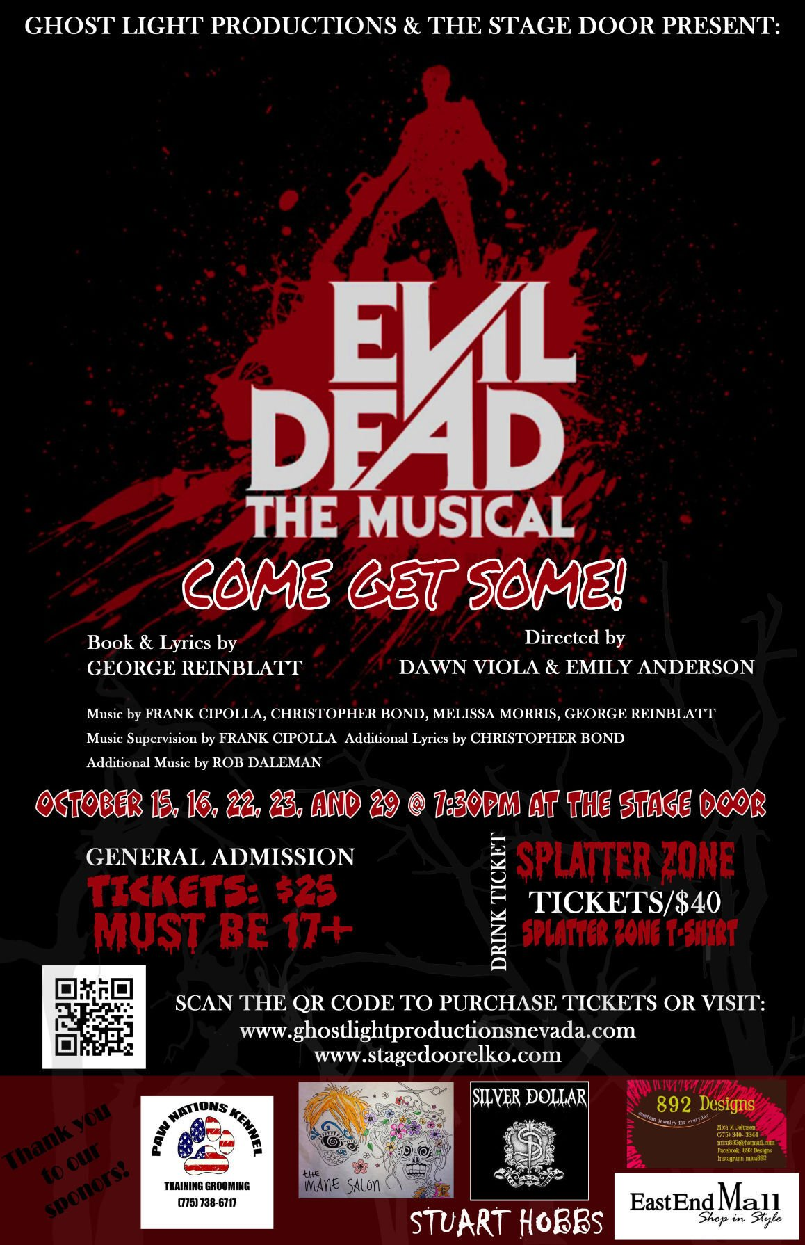 Enjoy gore and humor with theatrical performance