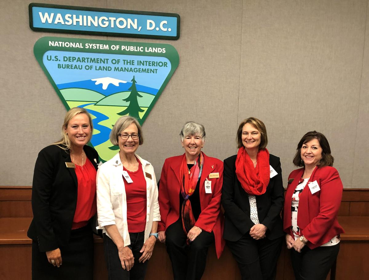 Women's Mining Coalition - Five at 2019 fly-in