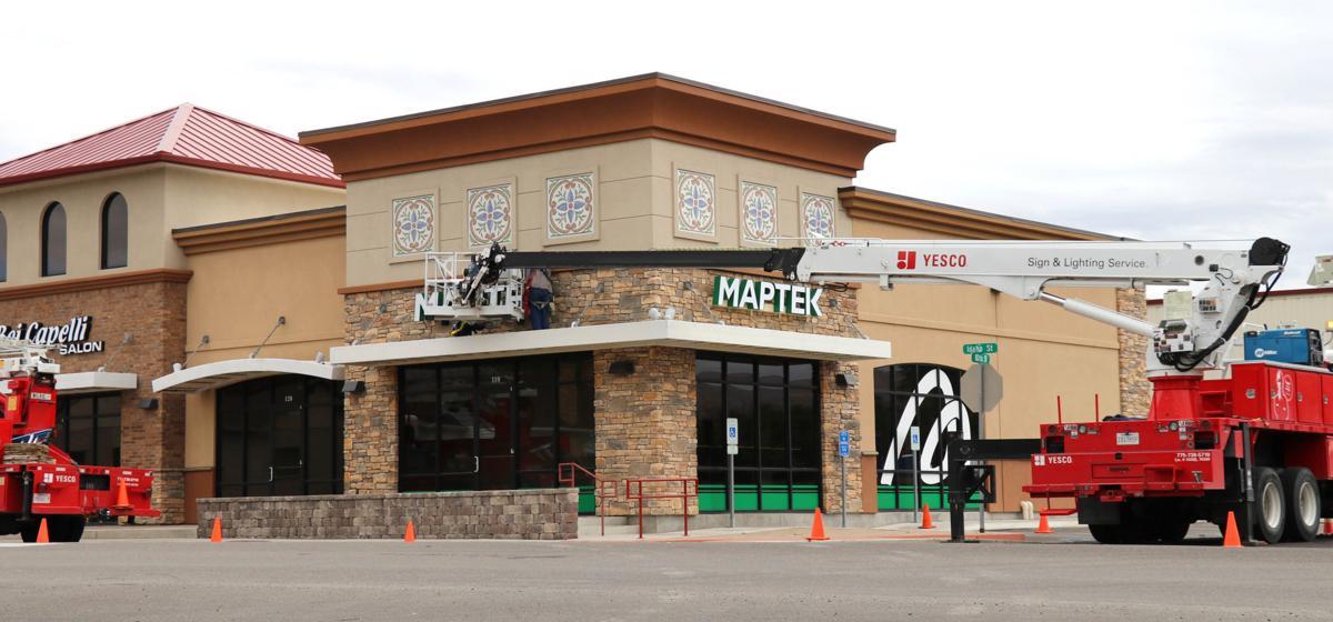 Maptek - New office
