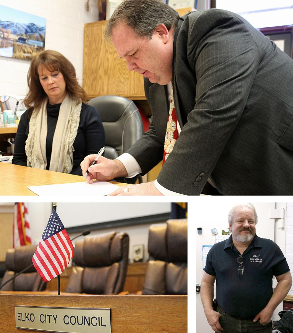 Elko City Council candidates