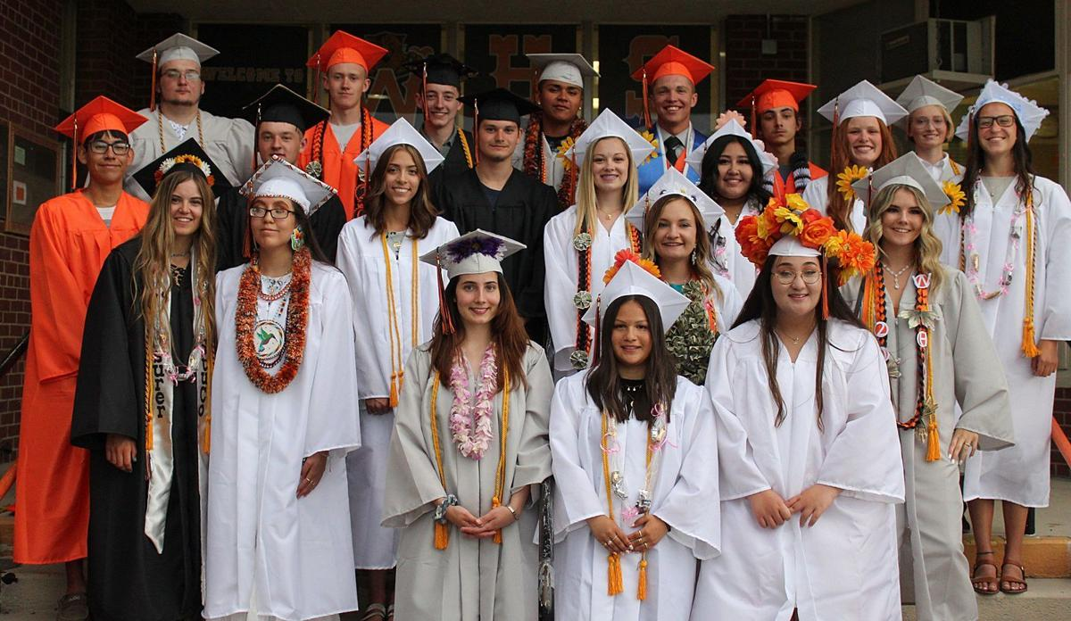 Wells High School graduates