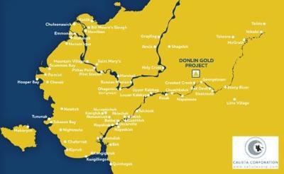 Alaska gold project