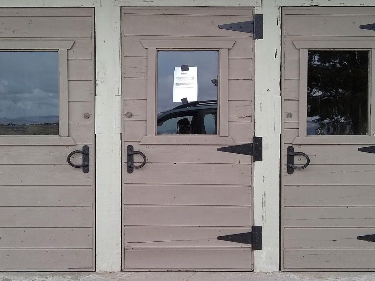 Horse Palace closed