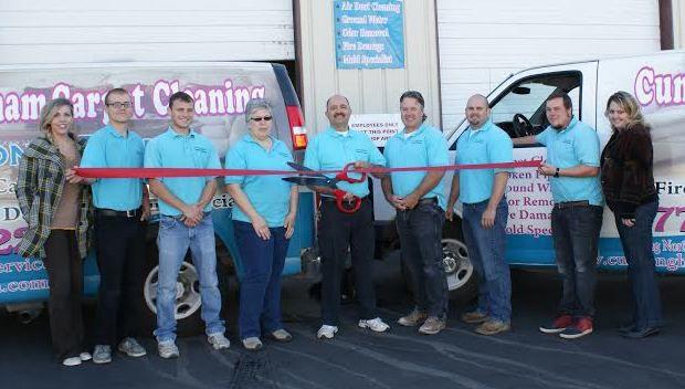 Cunningham Carpet Cleaning ribbon cutting