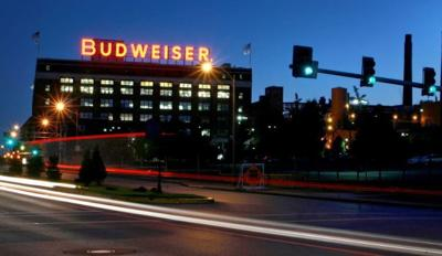 Anheuser-Busch's St. Louis brewery