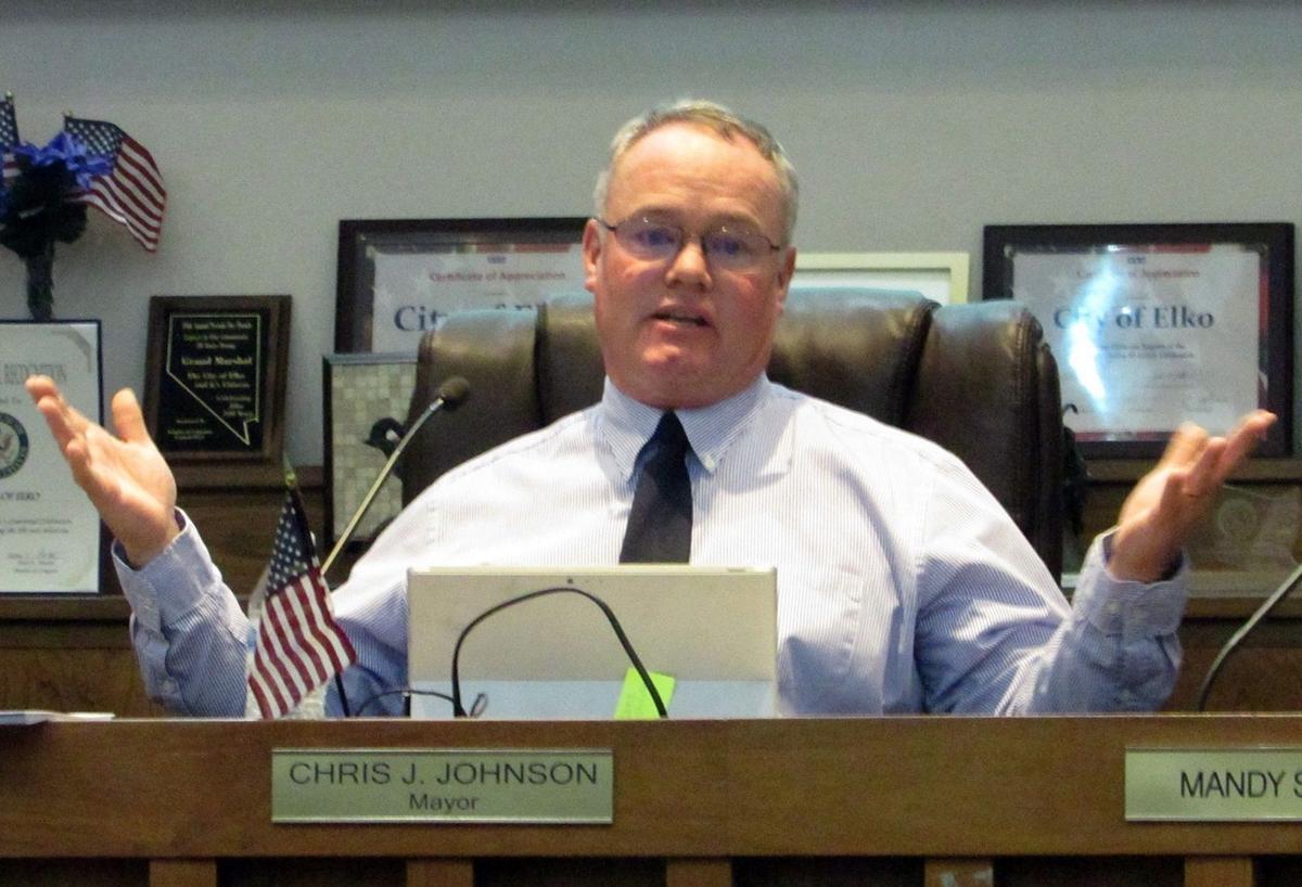 Mayor Chris Johnson