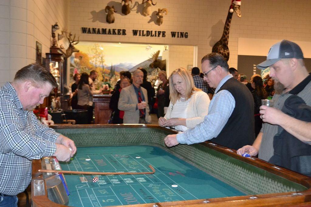 Casino Night Christmas Party