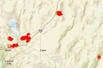 Evacuations Advised Near Northern Nevada Wildfire State Regional