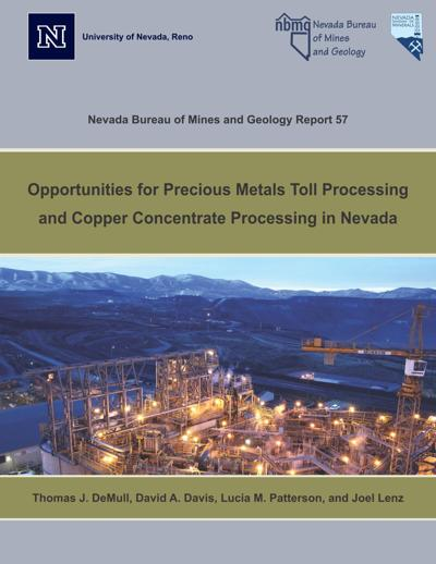 Report probes metal, copper processing potential in Nevada