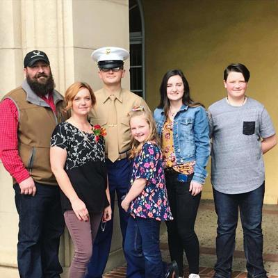 Williams graduates as a Marine
