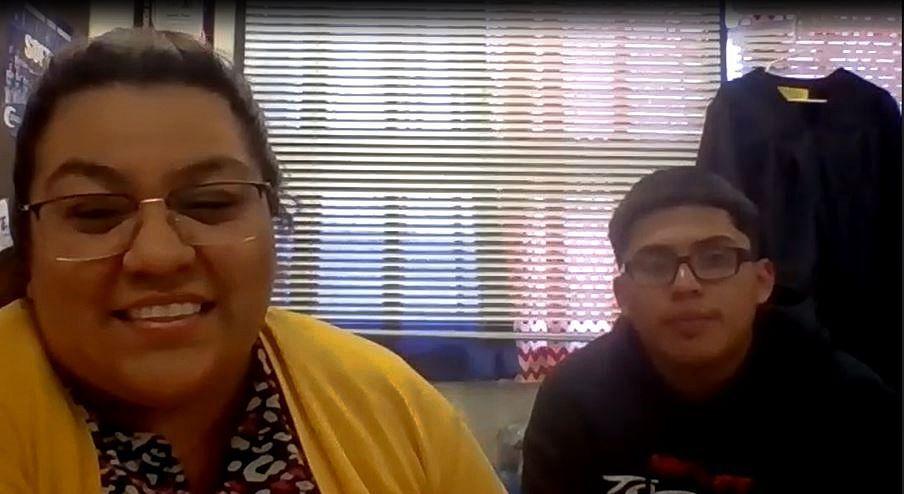 Lysette Perez and Rogelio Navarro