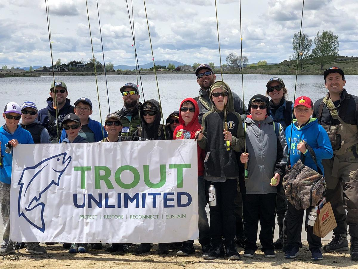 Trout Unlimited teachers and campers