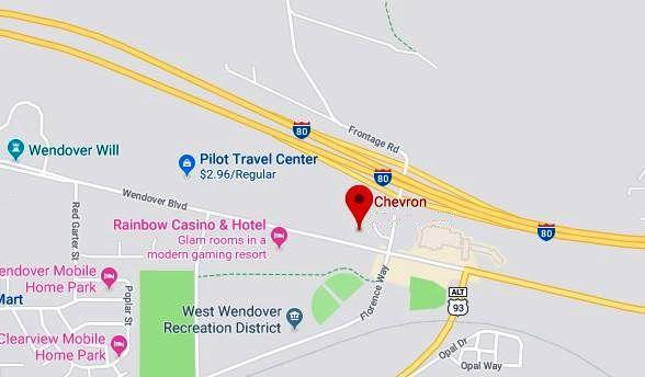 Wendover casino map vegas wedding casino package