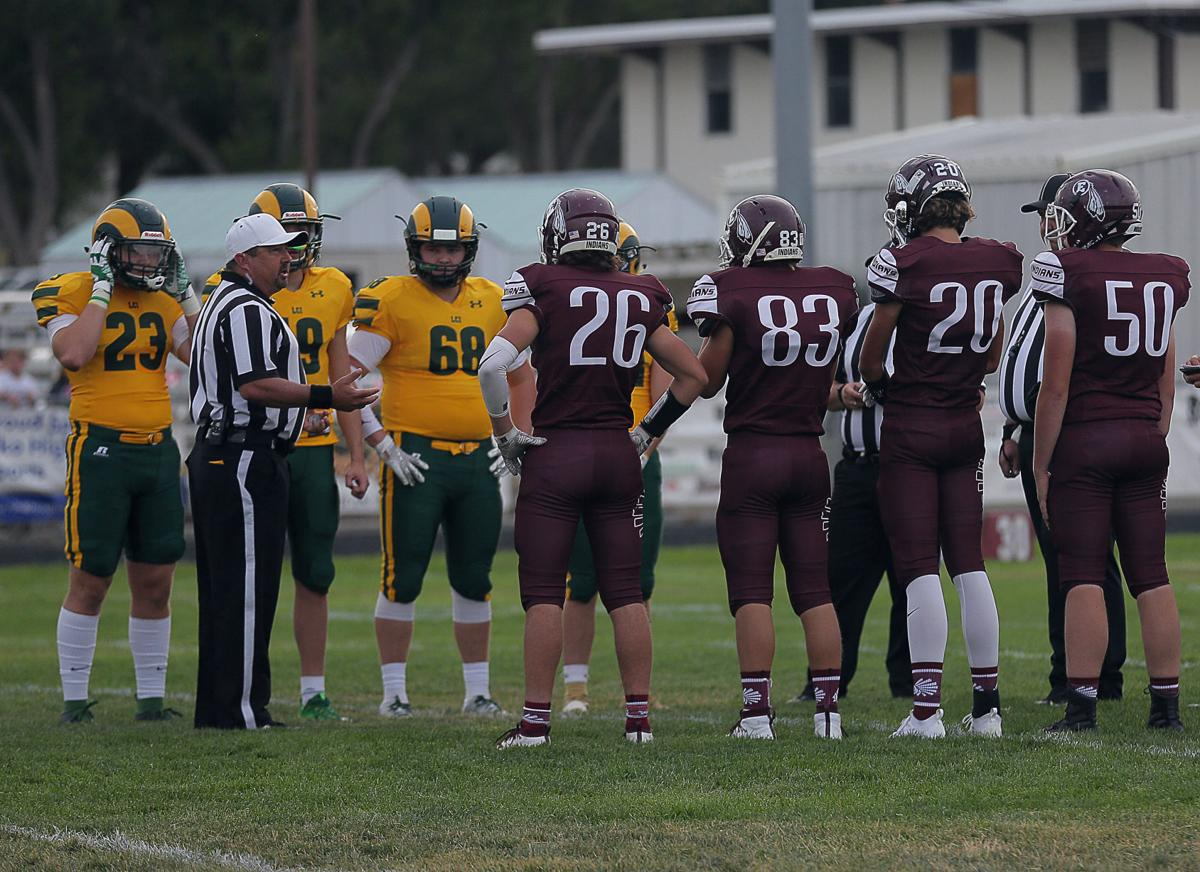 LCI at Elko football coin toss