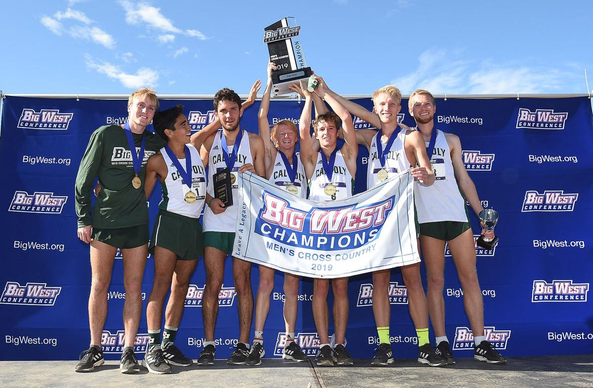 Cal Poly Men's Cross Country — 2019 Big West Conference Champions