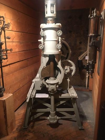 Steam-powered drill