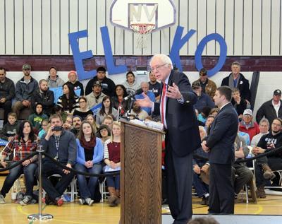Bernie Sanders in Elko