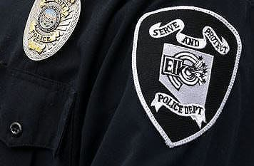 Elko police patch