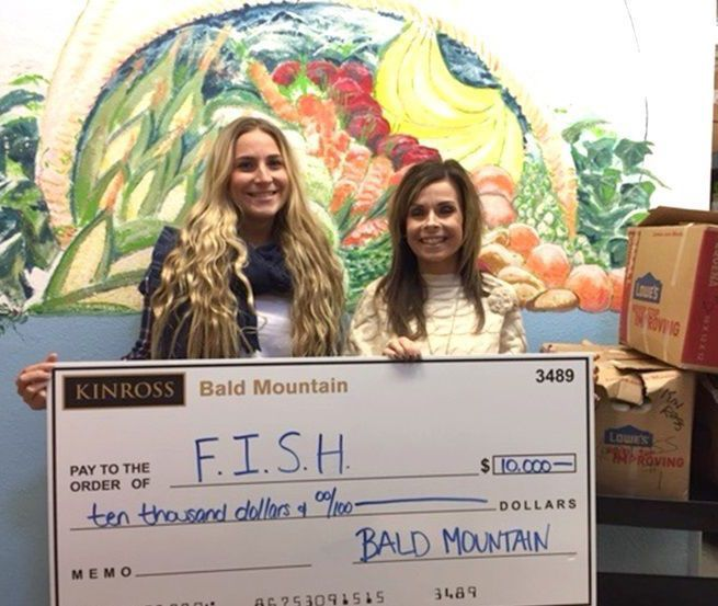 Kinross donates to FISH