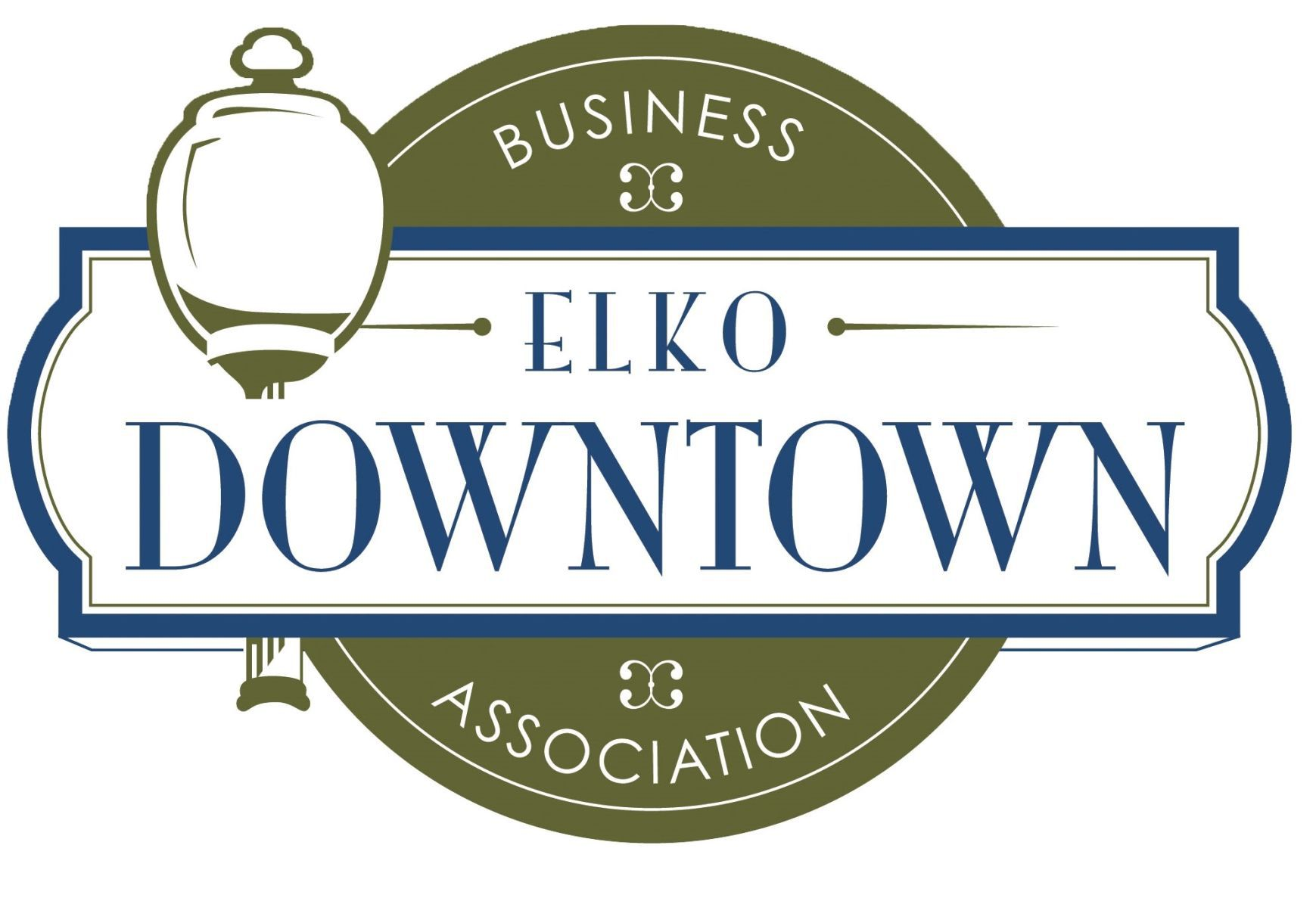 Country Night Lights In Downtown Elko