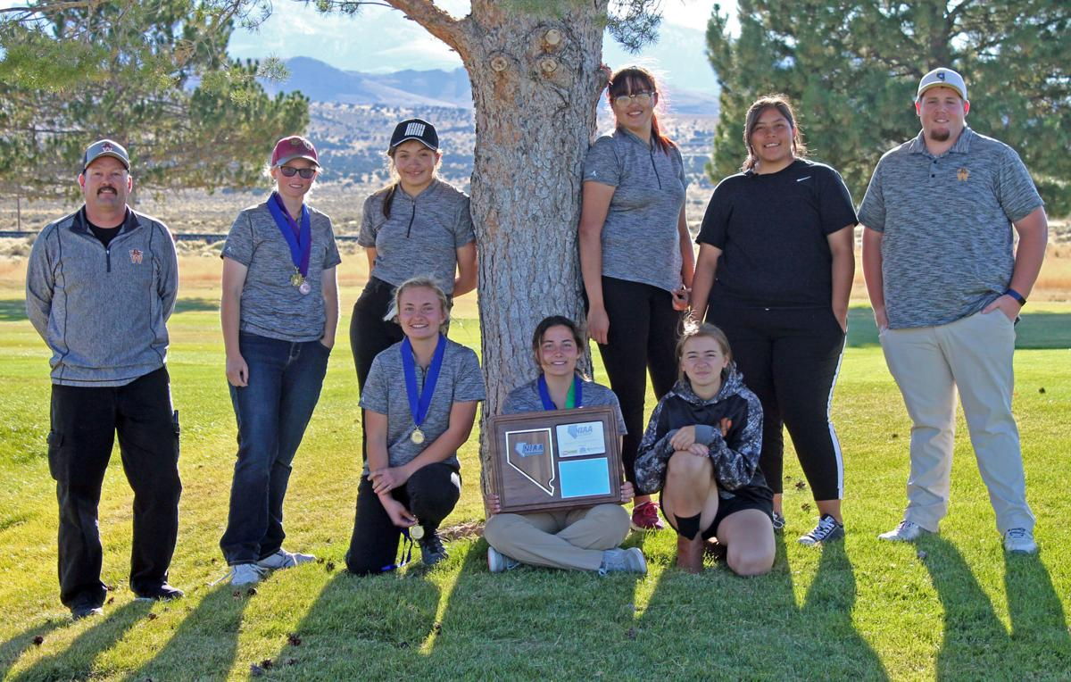 Wells Girls Golf Team — Division 1A-2A East regional champions