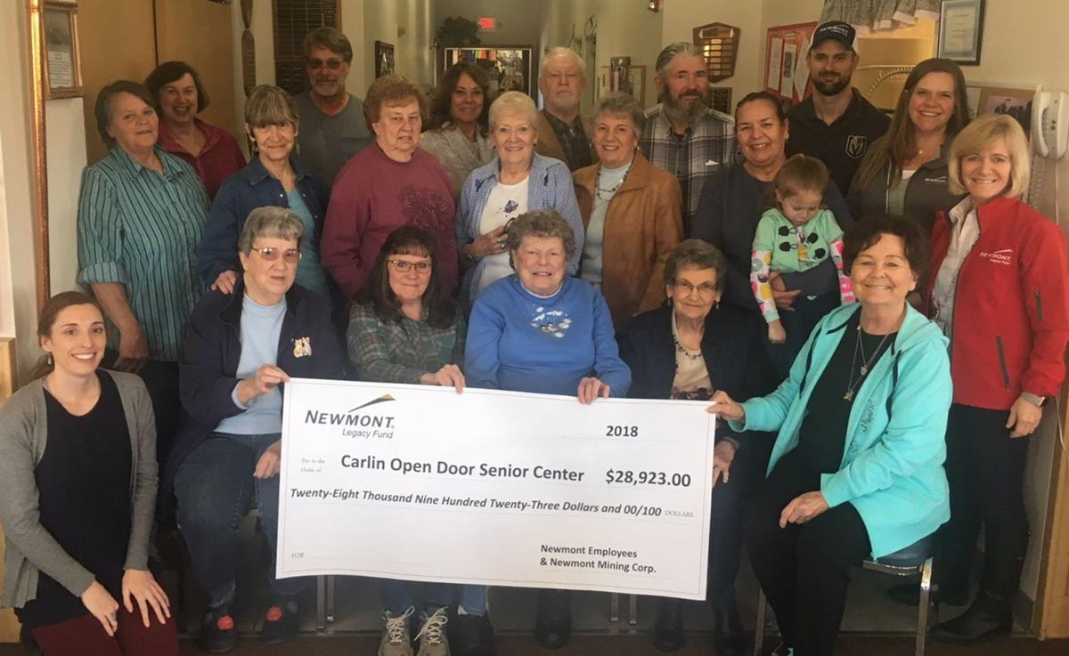 Carlin seniors benefit from Newmont Legacy Fund