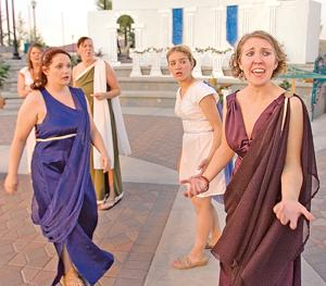 'Lysistrata' puts women in charge