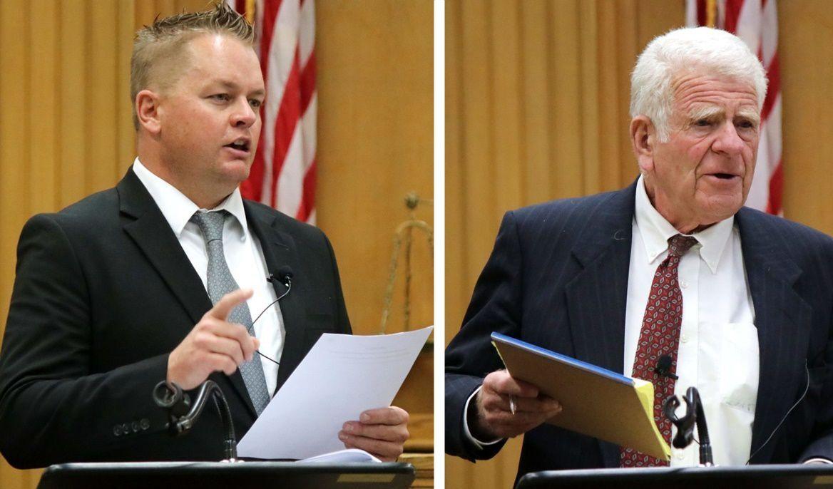 Home invasion murder trial