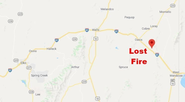 Lost Fire map