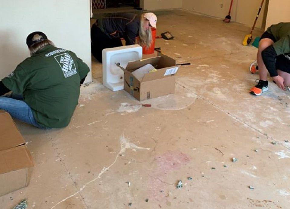 Home Depot Team Rubicon Remodel Home Of Veteran