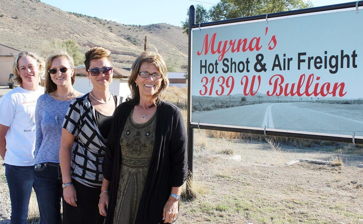 A family business: Myrna's Hot Shot on call to the mines