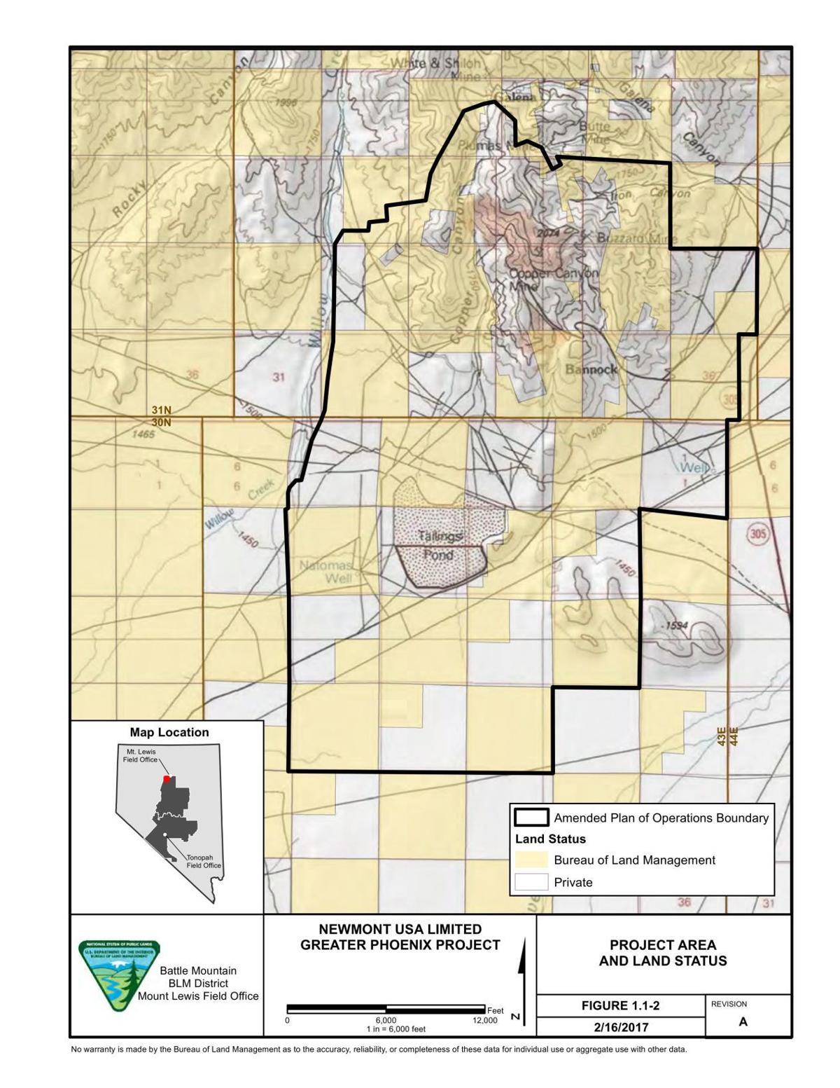 Newmont to expand Phoenix Mine