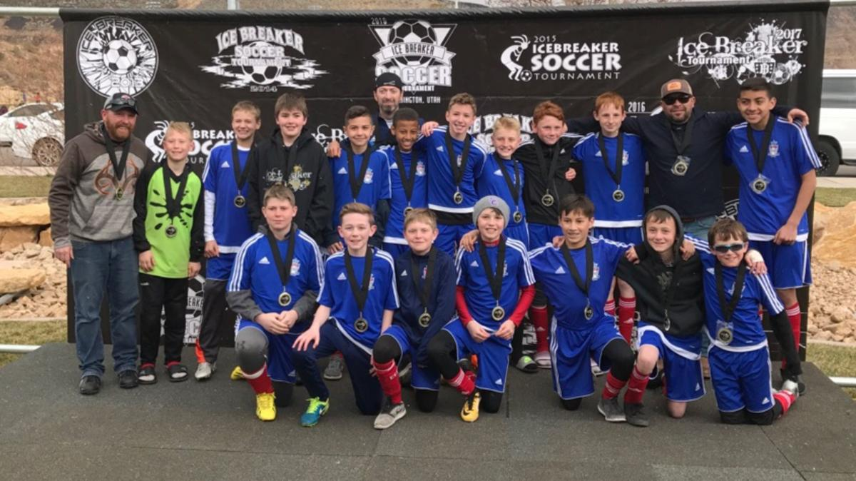 Elite FC U13 boys soccer -- Icebreaker Tournament