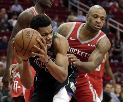 Bucks Rockets Basketball