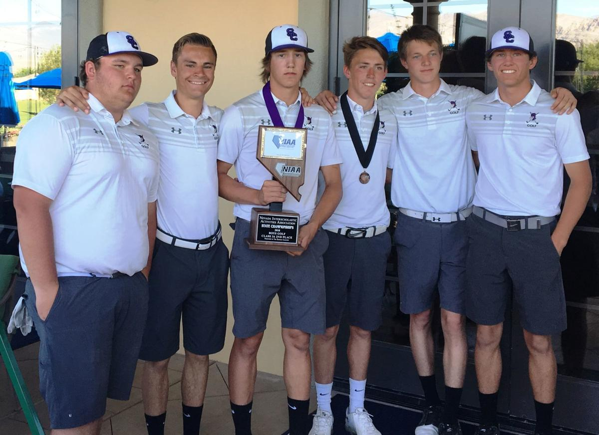 Spring Creek boys golf -- 2018 state runner-up