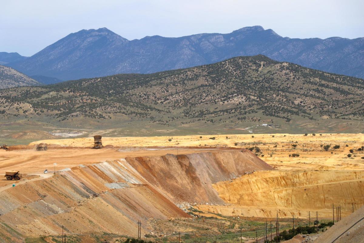 Robinson Mine - Keystone waste rock dump