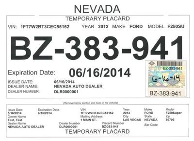 Car Dealer Tags Redesigned To Fight Fraud Business Elkodailycom