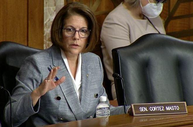 U.S. Sen. Catherine Cortez Masto