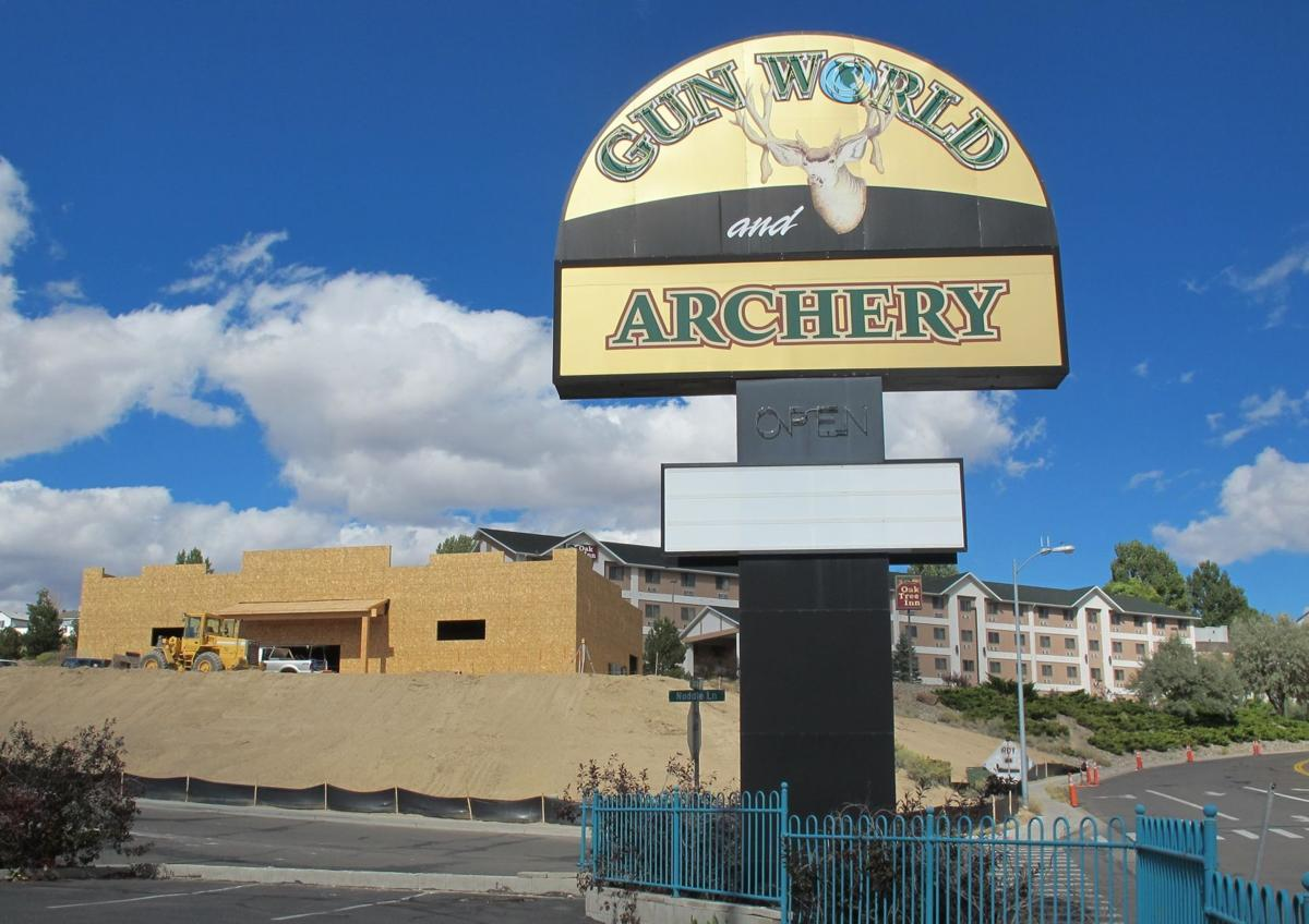 Gun World and Archery new construction