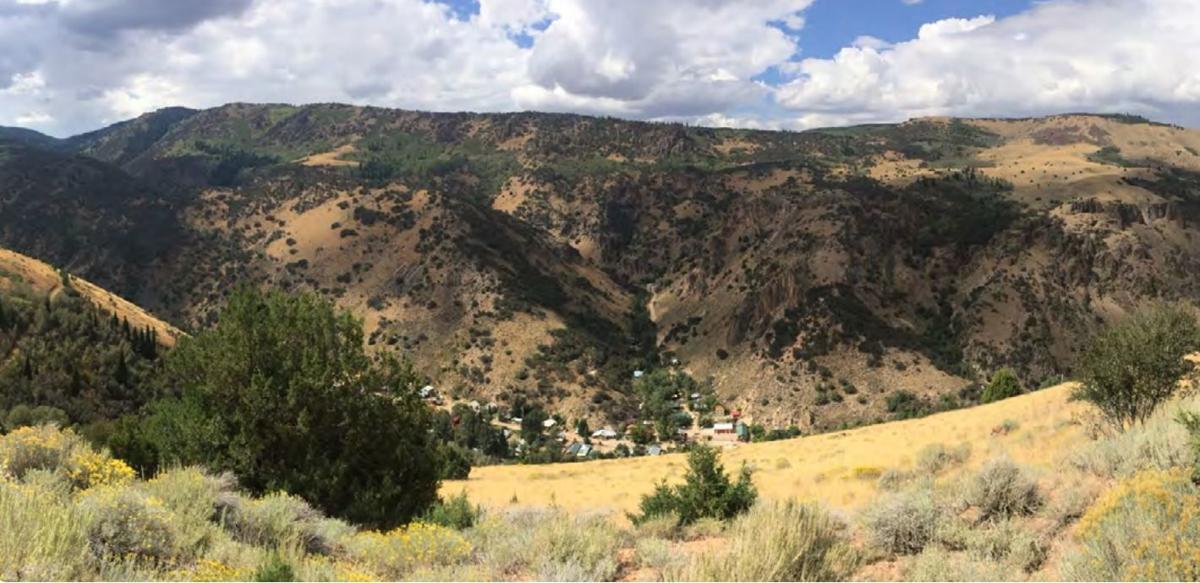 Jarbidge - in the Jarbidge canyon