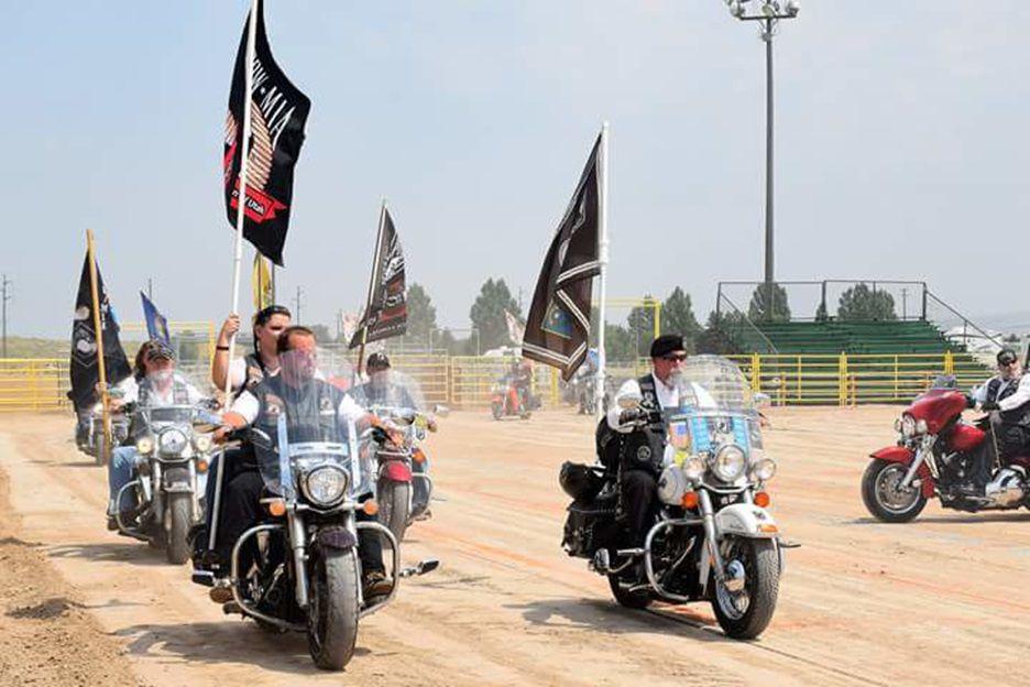 POW-MIA motorcycles