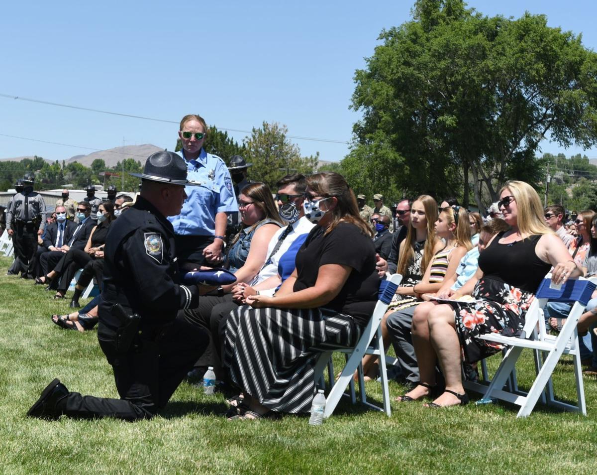 Slain officer honored in Elko ceremony of life